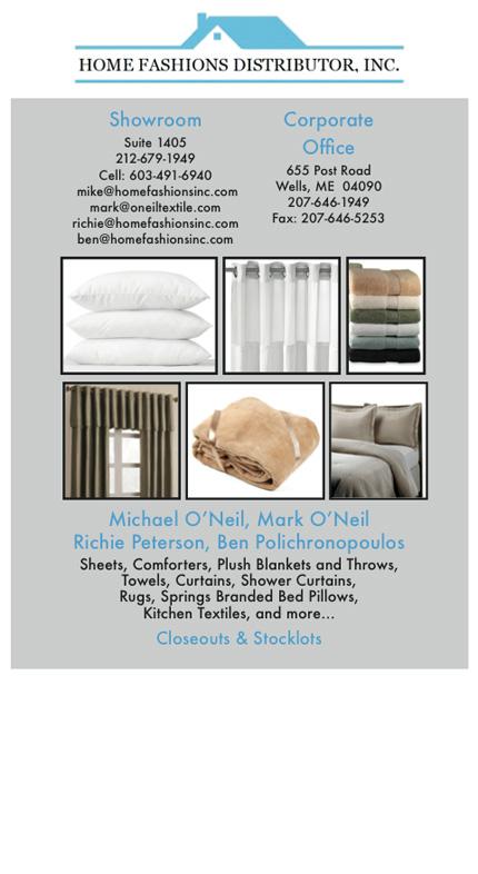 Home Fashions Distributor, Inc.