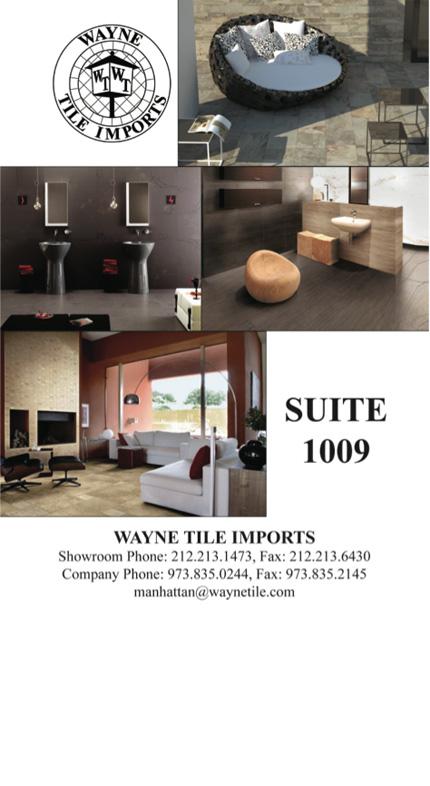 Wayne tile imports 230 fifth avenue 230 fifth avenue for 1009 fifth avenue floor plan